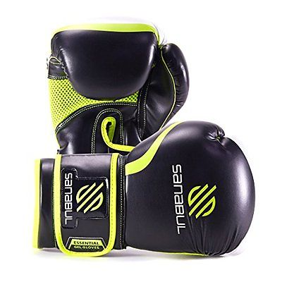2. Sanabul Essential GEL Boxing Kickboxing Training Gloves