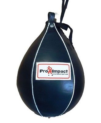 5. Pro Impact Genuine Leather Speedbag Punch Bag