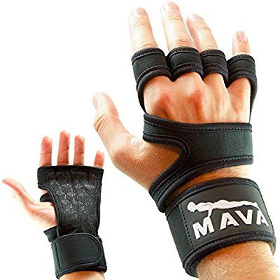 3. Cross Training Gloves with Wrist Support for Fitness