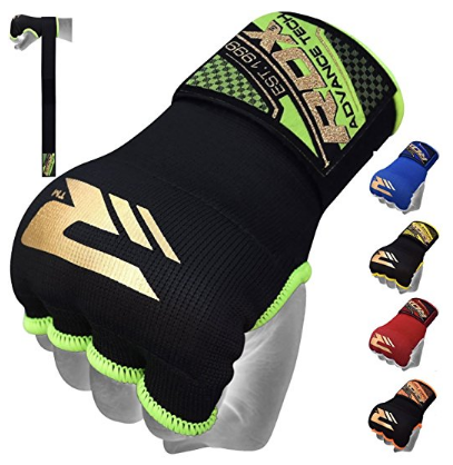 8. RDX Training Boxing Inner Gloves Hand Wraps