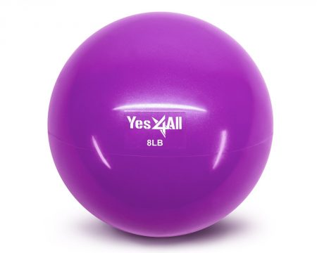 10. Yes4All – Soft Weighted Medicine Toning Ball
