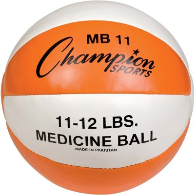 5. Champion – Sports Leather Medicine Ball