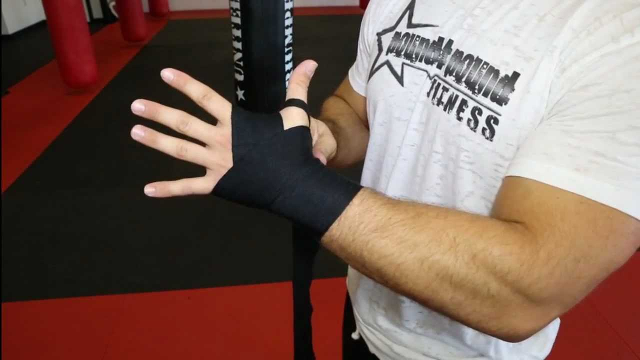 hand-wrapping