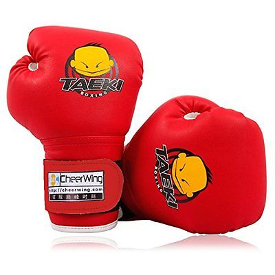 1. Cheerwing PU Kids Sparring Dajn Boxing Gloves