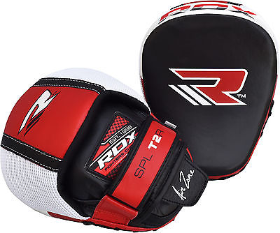 6. RDX Cowhide Leather Strike Shield Focus Mitts