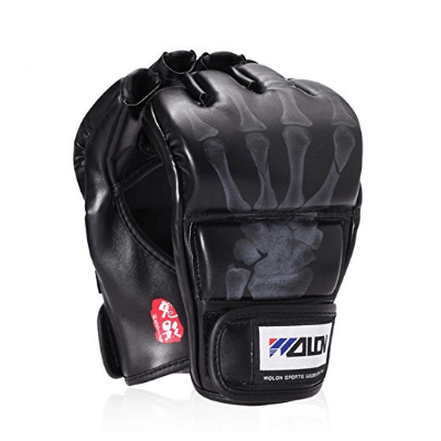 4. SKL Half Finger Boxing Gloves Sanda Fighting Sandbag Gloves