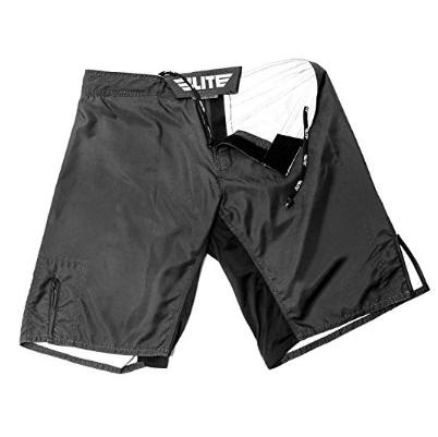 8. Elite Sports Black Jack Series Fight Shorts