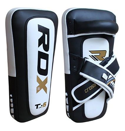 9. RDX Ultimate PTM Dome Strike Curved Muay Thai Pad Punching Mitts