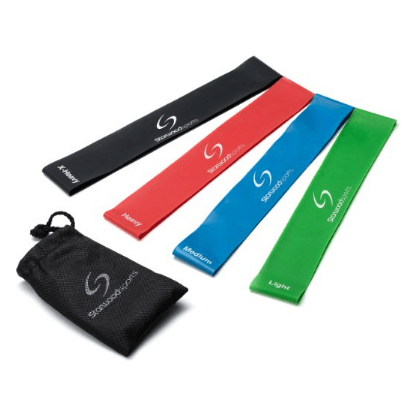 7. Starwood Sports Exercise Resistance Loop Bands – Set of 4