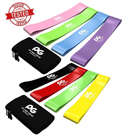8. Resistance Loop Bands, BEST Set of 4