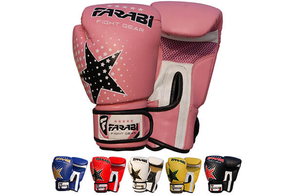 7. Kids Boxing Gloves, junior mitts, junior MMA boxing gloves 4 ounces
