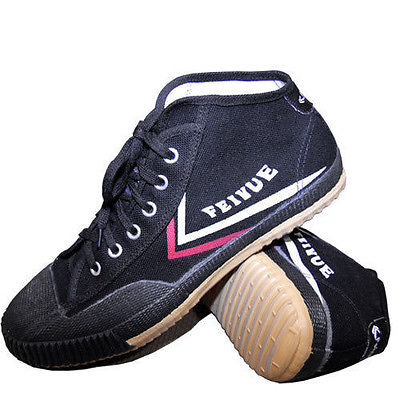 1. Tiger Claw Feiyue Martial Arts Shoes – White/Black