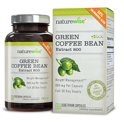 2. NatureWise Green Coffee Bean Extract 800