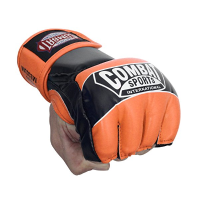 1. Ringside Combat Sports Youth Pro MMA Muay Thai Kids Half-Mitts Gloves