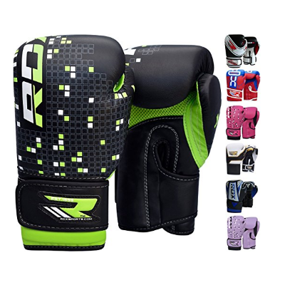 2. RDX Maya Hide Leather 4-6 pounces Kids Boxing Gloves