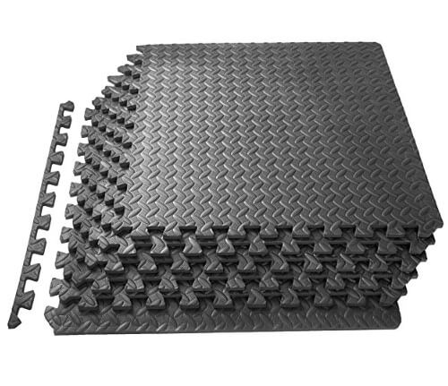 6. ProSource Puzzle Exercise Mat best home gym equipment