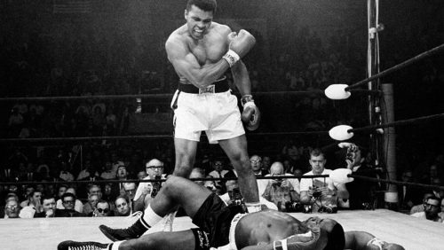 Ali vs Liston First Minute boxing gifts