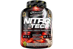 An in depth review of the MuscleTech Nitro Tech Whey Protein in 2018