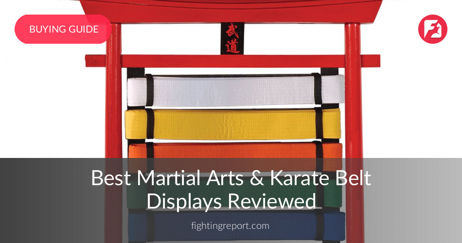 10 Best Karate Belt Displays Reviewed & Rated in 2019 | FightingReport