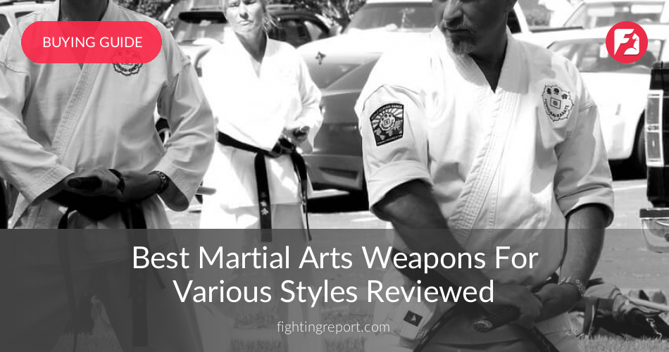 Best Martial Arts Weapons Reviewed & Rated in 2019